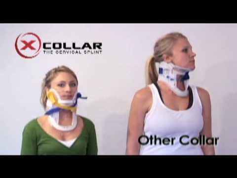 X-Collar [Demofilm] Zervikal-Schiene Neue Kopf-Immobilisierung bei medida
