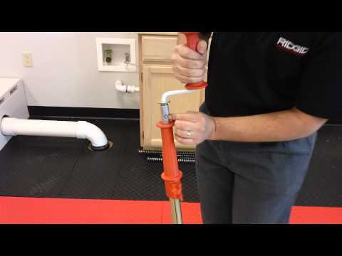 How to extend extra 3' on RIDGID K-6 Toilet Auger