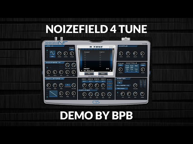 Noizefield 4 Tune VSTi Plugin DEMO