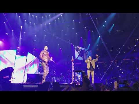 Romeo Santos Ft. Ozuna - EL FARSANTE Y SOBREDOSIS Official Live at MSG 2018HD GOLDEN TOUR