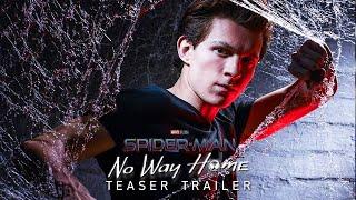 SPIDER-MAN: HOMESICK (2021) Tom Holland - Teaser Trailer Concept (Phase 4 Marvel Movie)