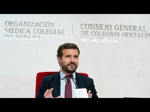 Pablo Casado inaugura la Jornada sobre Sociedad y Sanidad de la Fundación Concordia y Libertad