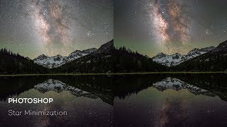 How to edit milky way in Photoshop - Orionh panel