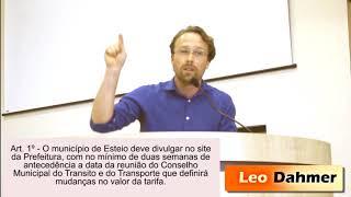Projeto prevê controle público na constituição do valor da passagem em Esteio