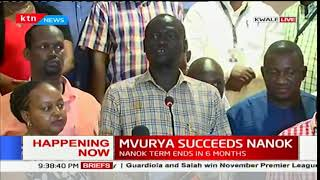 Kwale County Governor Salim Mvurya elected chair of the council of Governors
