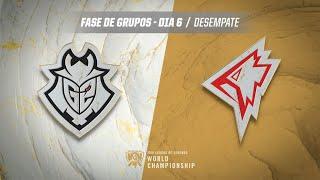Mundial 2019: Fase de Grupos - Dia 6 | G2 Esports x GRIFFIN (Desempate)
