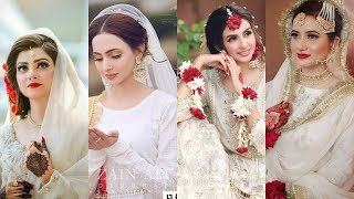 Most Latest And Designer Nikah Dresses For Brides||Wedding Dress Collection 2020