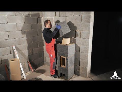 Cos de fum Hoch - instructiuni de montaj ale sistemului ceramic de horn izolat