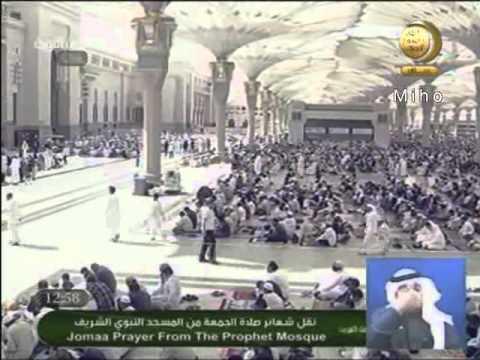 الفتن وموقف المسلم منها خطبة للشيخ علي الحذيفي 10ـ2ـ1432هـ