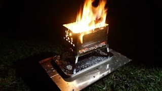 Best Solo Outdoor BBQ Stove from Japan 笑's Sho's Compact TAKIBI BBQ Grill 【B 6 boy】