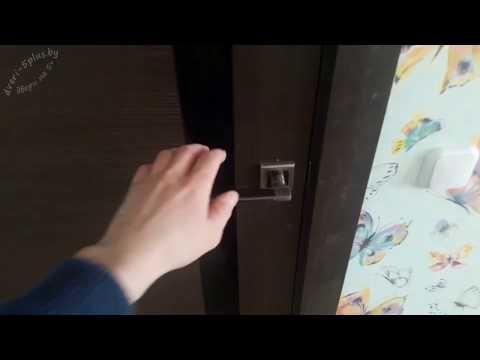Видео Двери Profil Doors 63X венге мелинга черный триплекс