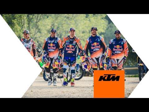 Le Team KTM Dakar 2017