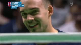 Minsk 2019 - Badminton F: Adcock/Adcock [GBR] vs Ellis/Smith [GBR]