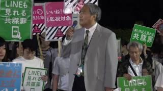 弁護士・共謀罪法案に反対する法律家団体連絡会<br />弓仲忠昭さん