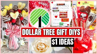 DOLLAR TREE VALENTINES GIFTS PEOPLE ACTUALLY WANT! $1 Affordable + Easy DIYS