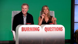 Will Ferrell Answers Jennifer Aniston's 'Burning Questions'