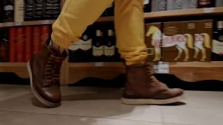 Bota Black Boots Berlin WC