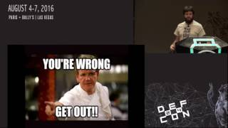 DEF CON 24 - Backdooring the Frontdoor