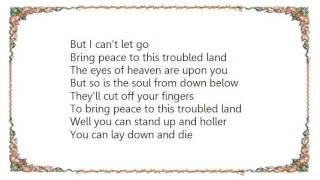 John Mellencamp - Troubled Land Lyrics