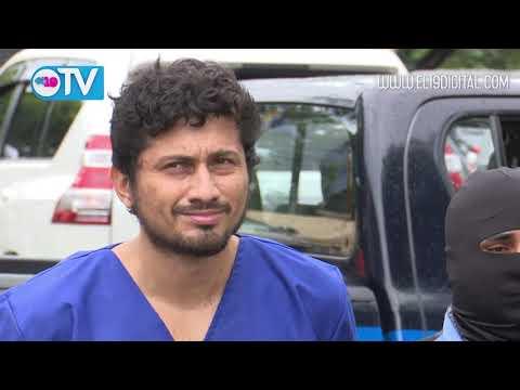 Policía Nacional presenta a dos terroristas que azotaron a la población capitalina