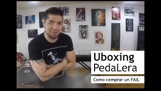 Unboxing Pedalera Custom
