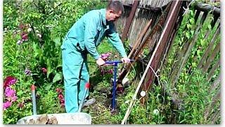 Как бетонировать заборный столб