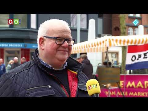 Ook non food marktkooplui willen weer met kramen op de markt.  (VIDEO) - RTV GO! Omroep Gemeente Oldambt