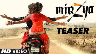 Official MIRZYA Teaser Trailer  Harshvardhan Kapoor Saiyami Kher Anuj Chaudhary  TSeries