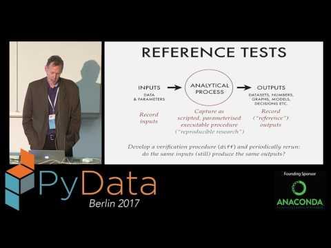 Developments in Test-Driven Data Analysis