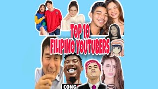 TOP 10 FILIPINO YOUTUBERS ( 2020 )    FAMOUS VLOGGERS IN THE PHILIPPINES
