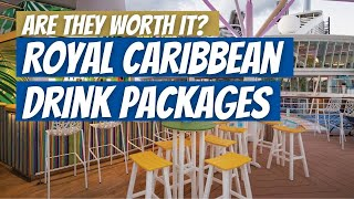 Royal Caribbean Alcohol Drink Packages Guide 2020