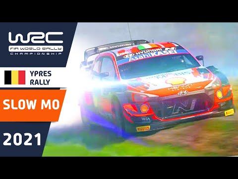 WRC 2021 WRC第8戦 ラリー・ベルギー スローで見るベスト動画
