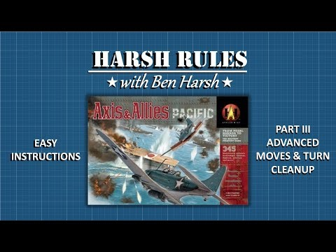 Harsh Rules - Learn to Play Axis & Allies Pacific - Part III