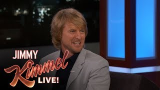 Owen Wilson's Kids Don't Believe He's Lightning McQueen