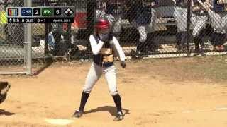 High School Softball: Colonia VS JFK, April 6, 2015