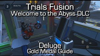 """Trials Fusion - """"Deluge"""" (Extreme) Gold Medal Guide - Welcome to the Abyss DLC"""