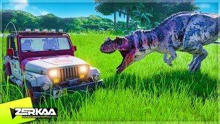 A DINOSAUR ESCAPED IT'S ENCLOSURE! (Jurassic World Evolution #3)