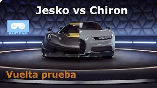 Koenigsegg Jesko Vs Bugatti Chiron   Vuelta Prueba   Asphalt 9