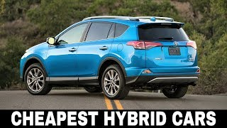7 Cheapest Hybrid Cars With The Highest Fuel Efficiency (Price Review)