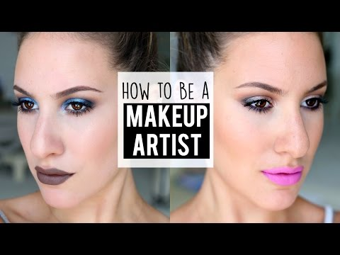 How To Become a MAKEUP ARTIST ♡ My Personal Tips and Tricks! | JamiePaigeBeauty