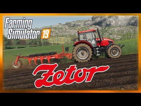 ZETOR ve Farming Simulator 19!