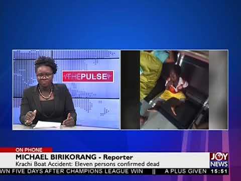 Krachi Boat Accident - The Pulse on JoyNews (31-5-18)