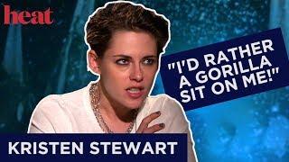 Kristen Stewart On Never Taking Her Makeup Off & Creepy Crawlies!