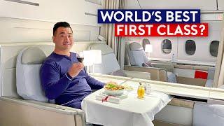 World's Best First Class? Air France La Premiere 2021