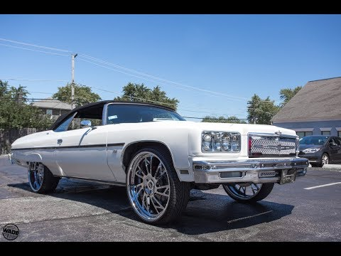 "Xtreme Kustom Wheels : 1975 Chevrolet Caprice on 26"" Forgiato Veraso Wheels"
