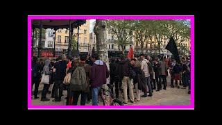 Saint-Etienne : 60 policiers face aux tensions entre antifascistes et Action française