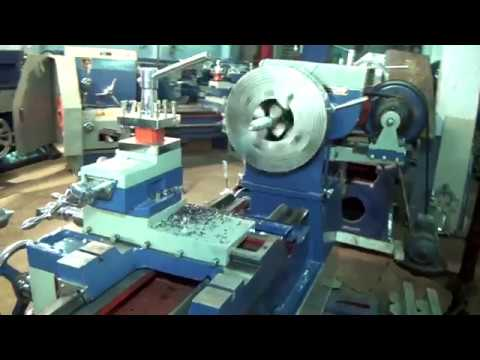 Heavy Duty Lathe Machine 9 Feet