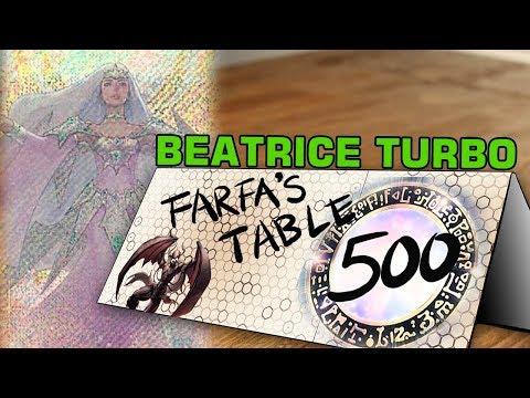Table 500 Coaching Beatrice Turbo #27 -