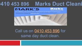 Duct Cleaning Specialists in Melbourne
