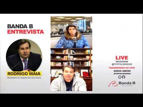 Maia fala sobre relação com Bolsonaro, comando da Câmara e eleição - 05/08/20